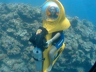 ★ハワイでBOB'S・水中スクーター...